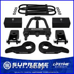 2.5 Front + 2 Rear Lift Kit For 03+ Chevy Express GMC Savana Extenders Tool