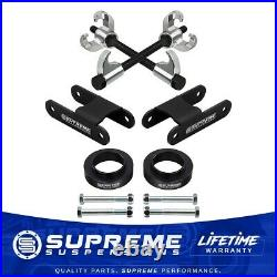 3 Front 2 Rear Lift Kit + Coil Compressor For 04-12 Chevy Colorado GMC Canyon