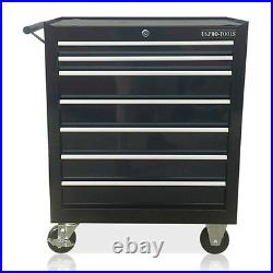 372 Us Pro Black Tools Affordable Steel Chest Tool Box Roller Cabinet 7 Drawers