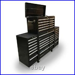 422 US PRO Tools Black Tool Chest Box Snap Up 2 side cabinet 75 finance option
