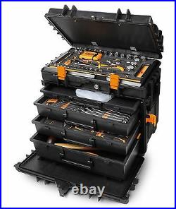 Beta C14 Professional Fly Case Plastic 4 Drawer Tool Case/Trolley