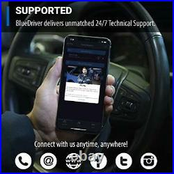 BlueDriver Bluetooth Pro OBDII Scan Tool for iPhone & Android, Car Diagnostics