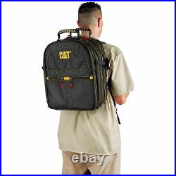 Cat 17 in. Pro Tool Backpack 47 Pockets Heavy Duty 1680D Polyester 240052