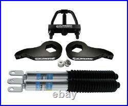 Fits 2002-2006 Chevy Avalanche 1500 1-3 Adjustable Front Lift Kit + Shocks Tool