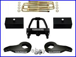 For 1988-1999 Chevy GMC K1500 4WD 3 + 2 Inch FULL Level Lift Kit +Torsion TOOL