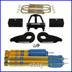 For 1997-2003 Ford F-150 4WD 3 F + 2 R Lift Level Kit + Tool + Bilstein Shocks