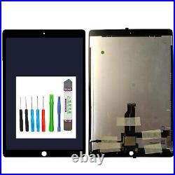 For IPAD Pro 12.9 2015 Complete LCD Display A1584 A1652 With Flex Black