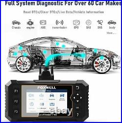 Foxwell Full System Auto OBD2 Scanner Car DPF ABS Injector Car Diagnostic Tool