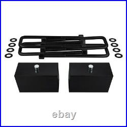 Full 3 Lift Kit For 1999-2007 Chevy Silverado 1500 Shock Ext + Torsion Tool 4WD