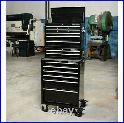 Hilka HD Pro+ 17-Drawer Combination Tool Chest Trolley