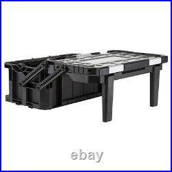 Keter ROC Cantilever Deep Organiser Tool Box Connect Pro 22 Inch KETPROCANT