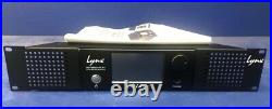 Lynx Hilo Black with LT-HD Pro Tools option card, rack kit, and manual