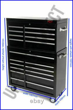 Professional Garage Tool Chest Rollcab Top Box With Us Ball Bearing Slides