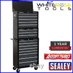 Sealey American Pro Tool Chest Combination 16 Drawer Black/Grey