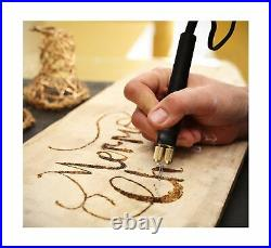 TRUArt Stage 2 Dual Pen Professional Woodburning Detailer 60W Tool 0.8MM Tips