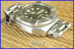 Tag Heuer Ws2110-2 1000m Super Professional Yacht Racer Diver Tool Watch Box Set