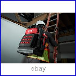 Ultimate Jobsite Backpack Tool Storage Professional Compact Travel Milwaukee NEW