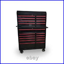 Us Pro Tool Chest Cabinet Box Special Edition! Red Handles Finance Available