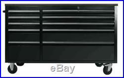 Us Pro Tools Tool Cabinet Chest Box Black Bench 55 Heavy Duty Finance Available