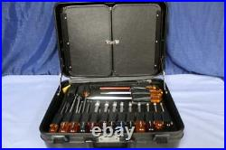 Xcelite TCMB100ST Hard Attache Case Professional Electronic Tool Kit made in USA
